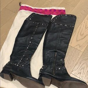Tory Burch gorgeous studded boots
